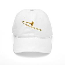 Funny Trombone Baseball Cap