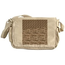 Coffee and Beans Messenger Bag