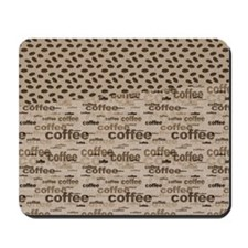 Coffee and Beans Mousepad