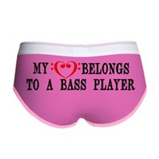 My Heart Belongs to a Bass Playe Women's Boy Brief
