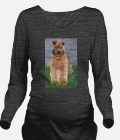 Wheaten.jpg Long Sleeve Maternity T-Shirt