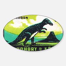 Trachodon Dinosaur Czech Matchbox L Decal