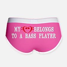 My Heart Belongs to a Bass Playe Women's Boy Brief