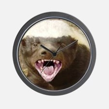 honey badger Wall Clock