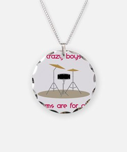 Drums Are For Girls Necklace
