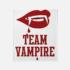 Team Vampire Throw Blanket