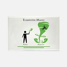 Elemental Magic - Aeroga Rectangle Magnet