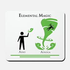 Elemental Magic - Aeroga Mousepad