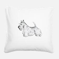 Scottish_Terrier.png Square Canvas Pillow