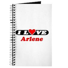 I Love Arlene Journal