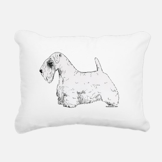 Sealyham_Terrier.png Rectangular Canvas Pillow