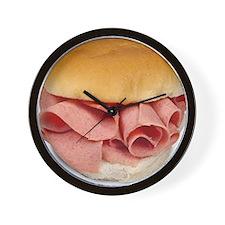 baloney sandwich Wall Clock
