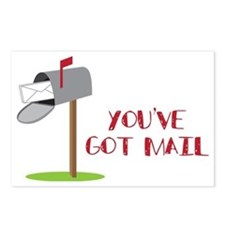 You've Got Mail Postcards (Package of 8)