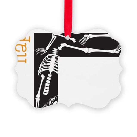 Happy Halloween Picture Ornament