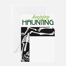 Happy Haunting Greeting Card