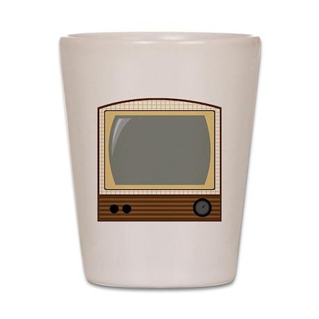 Vintage TV Shot Glass