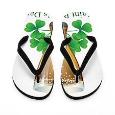 Saint Patrick's Day Flip Flops