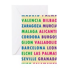 BPPG Spain Cities Greeting Card
