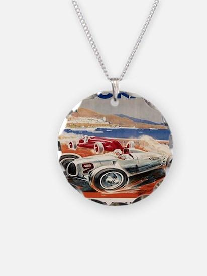 1936 Monte Carlo Grand Prix  Necklace