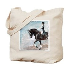 dressage1.tif Tote Bag