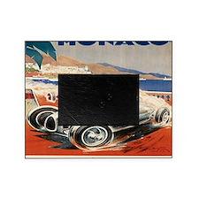 1936 Monte Carlo Grand Prix Poster Picture Frame