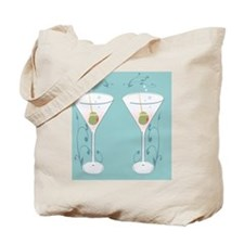 martini flip flops Tote Bag