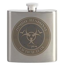 iPad Zombie Response Tactical Team Flask