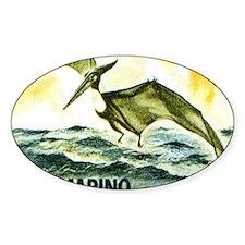 San Marino 1965 Pteranodon Postage  Decal