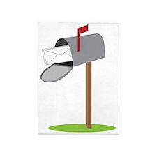 Mailbox 5'x7'Area Rug
