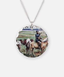 Iceland 1997 Overland Post M Necklace