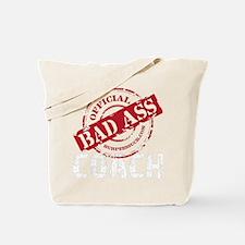 BAD ASS COACH - BLACK Tote Bag