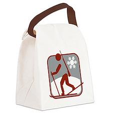 biathlon symbol Canvas Lunch Bag