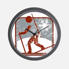 biathlon symbol (used) Wall Clock