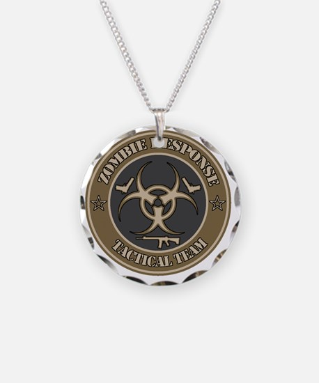 Zombie Response Tactical Tea Necklace