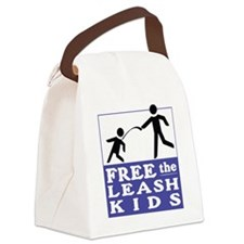 Free the Leash Kids Canvas Lunch Bag