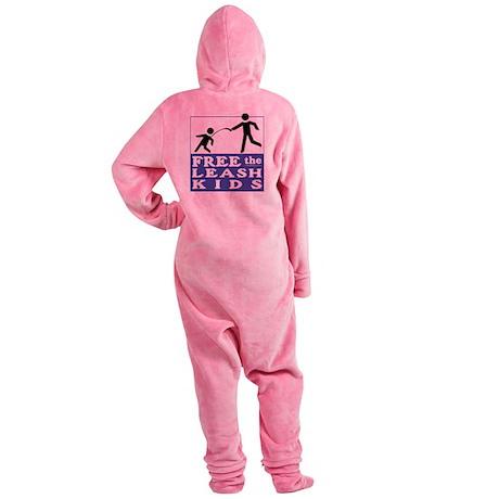 Free the Leash Kids Footed Pajamas