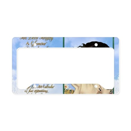 1 A CVR CLIVE BUTTERFLY KISS License Plate Holder