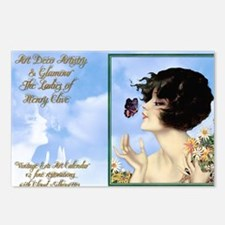1 A CVR CLIVE BUTTERFLY K Postcards (Package of 8)