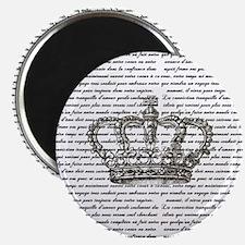 Vintage Crown Magnet
