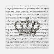 Vintage Crown Queen Duvet
