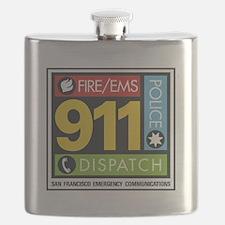 911 SAN FRANCISCO Flask