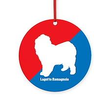 Lagotto Ornament (Round)