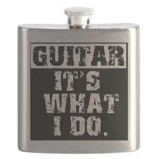 Guitar, It's What I do Flask
