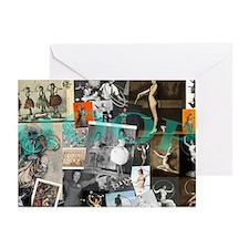 Hoop History Greeting Card