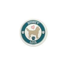 Husky Love Mini Button