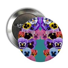 "pansy flip flops 2.25"" Button"
