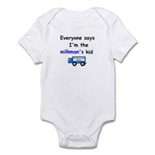 MILKMAN'S KID FUNNY Infant Bodysuit