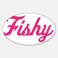 Fishy Sticker (Oval)