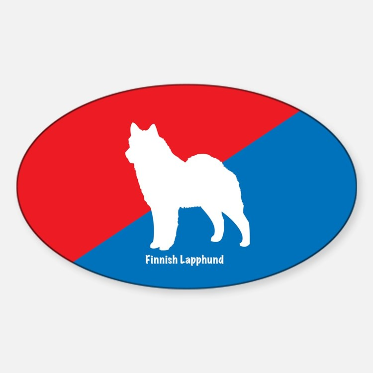 Lapphund Oval Decal