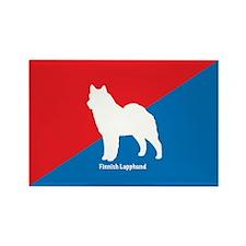 Lapphund Rectangle Magnet (10 pack)